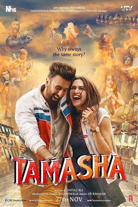 Tamasha 2015 Hindi DVDScr x264 700MB