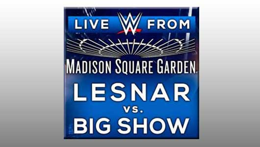 WWE Live From MSG