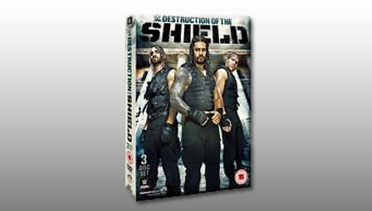 Destruction Of The Shield 2015 DVD