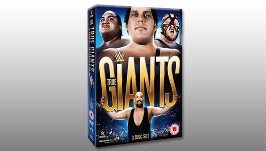 WWE True Giantsl DVD
