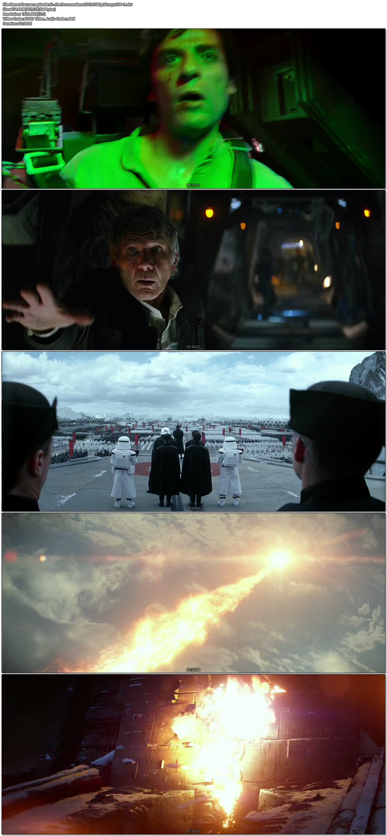 Star Wars: Episode VII - The Force Awakens (2015) 1080p ...