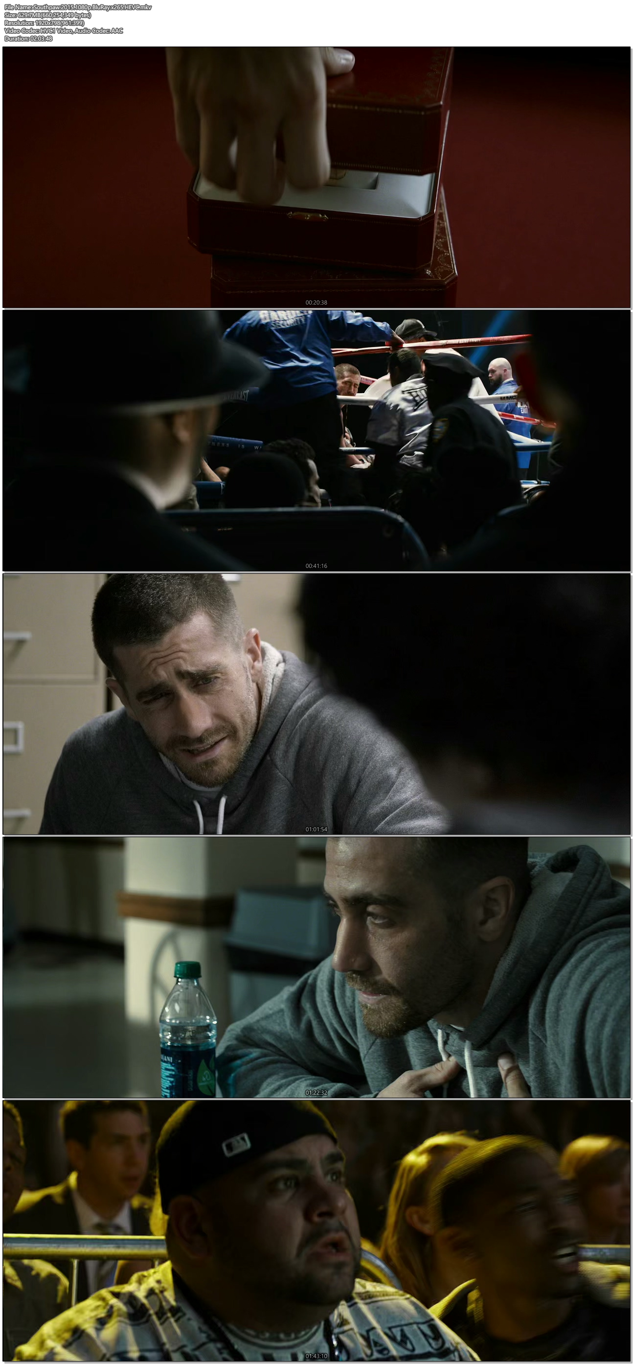 Southpaw (2015) 1080p HEVC BluRay x265 629 MB ...