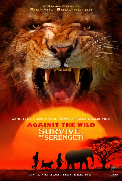 Against the Wild 2: Survive the Serengeti (2016) 720p HEVC DVDRip X265 447 MB