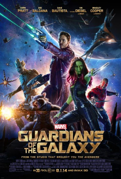 Guardians of the Galaxy (2014) 1080p HEVC Bluray X265 461 MB