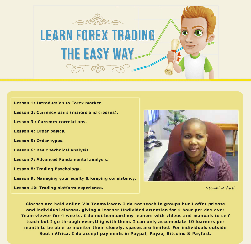 Learn how to trade forex now
