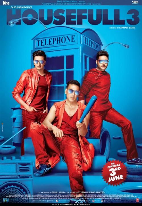 Housefull 3 (2016) Hindi 720p HEVC DVDRIP x265 670MB