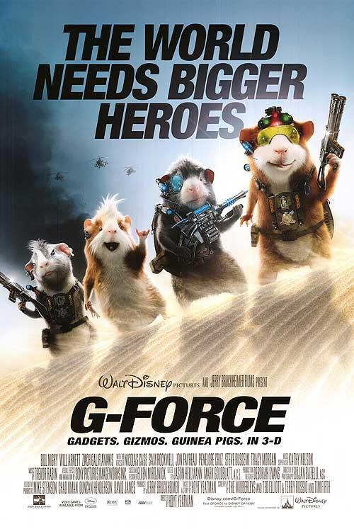G-Force (2009) 720p BluRay X264 [Dual-Audio] 914 MB