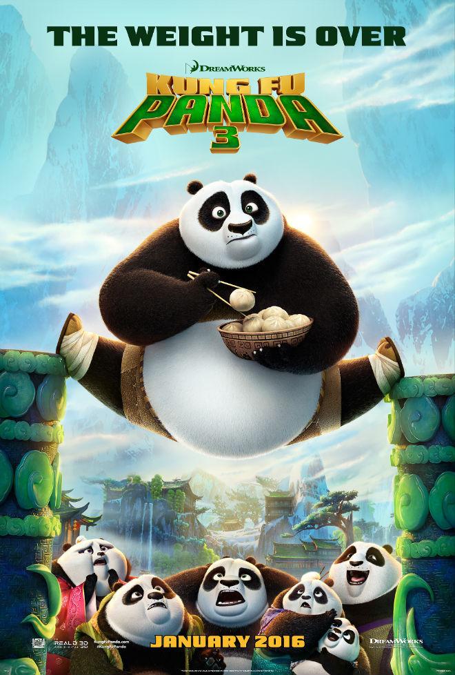 Kung Fu Panda 3 (2016) 1080p HEVC Bluray X265 326 MB