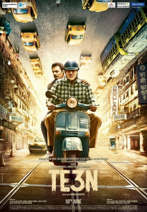 Te3n (2016) Hindi HEVC Dvdrip X265 850MB