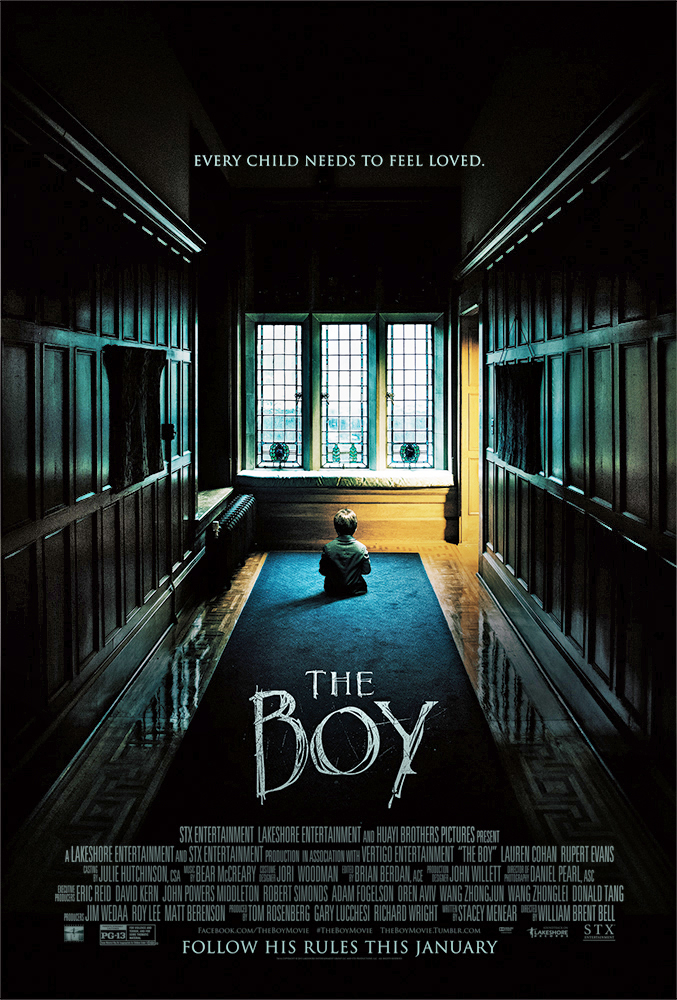 The Boy (2016) 720p BluRay X264  710 MB