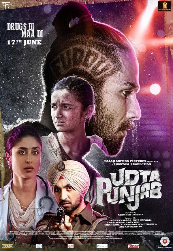 Udta Punjab (2016) HEVC DvDRip x264 800MB
