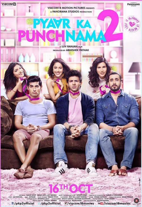 Pyaar Ka Punchnama 2 2015 Hindi 720p HEVC WEBHD x265 640MB