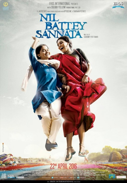 Nil Battey Sannata (2016) Hindi 720p HEVC Dvdrip X265 590MB