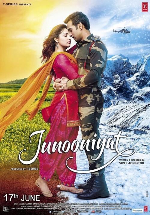 Junooniyat (2016) Hindi 720p HEVC DvDRip X265 600MB