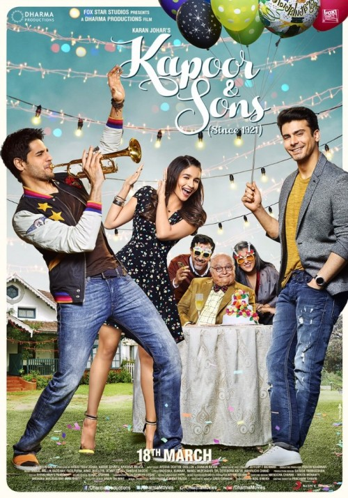 Kapoor & Sons (2016) Hindi 1080p HEVC BluRay x265 950MB