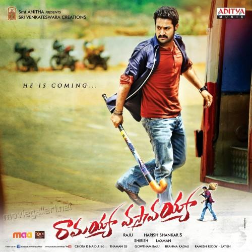Ramayya vastavayya (2013) Telugu 1080p HEVC BluRay x265 1000MB