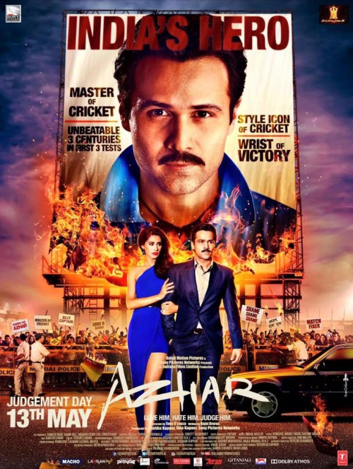 Azhar (2016) 1 CD DvDRip XviD 660MB