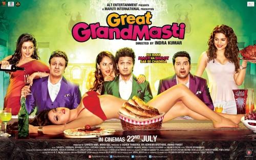 Great Grand Masti (2016) DVDSCR x264 690MB