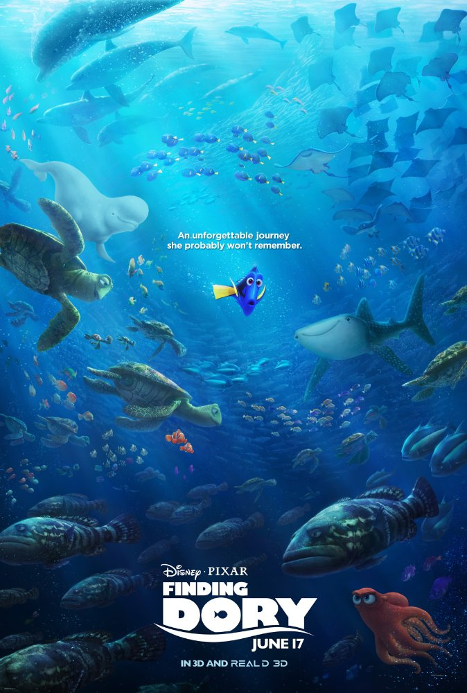 Finding Dory (2016) 720p BluRay x264 700MB