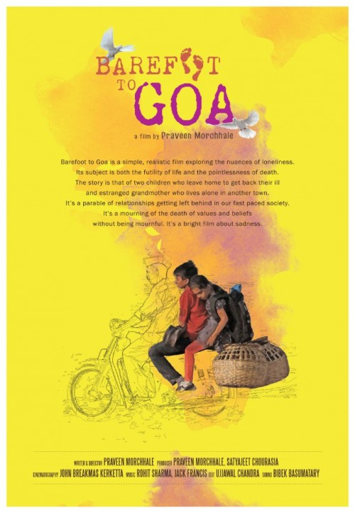 Barefoot To Goa (2015) Hindi HEVC DvDRip X265 480MB