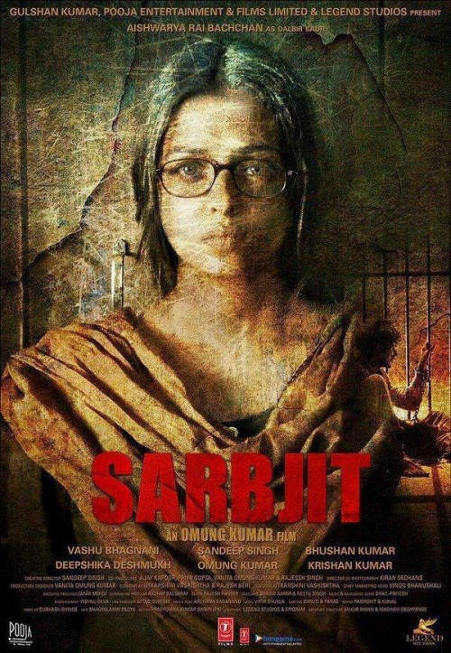 Sarbjit (2016) Hindi HEVC DvDRip X265 830MB