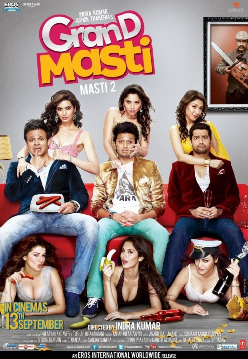 Grand Masti (2013) Hindi Movie DVDRip 700MB