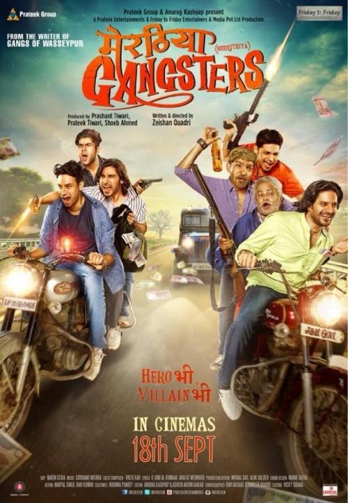 Meeruthiya Gangsters (2015) 720p HEVC DvDScr X265 600MB