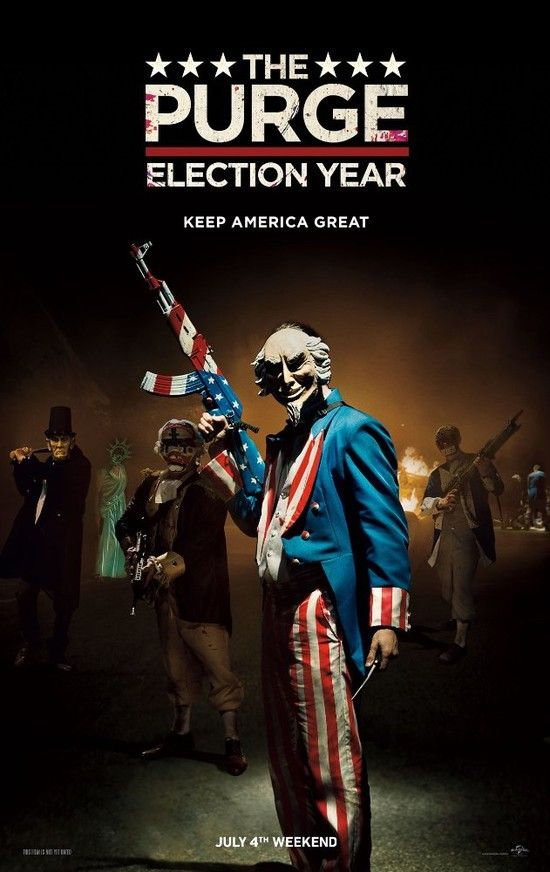 The Purge: Election Year (2016)  WEBRip x264