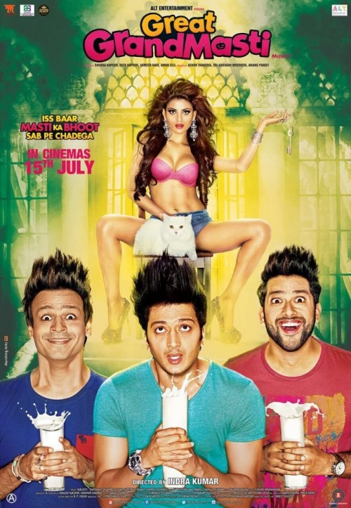 Great Grand Masti (2016) Hindi 720p HEVC DvDRip X265