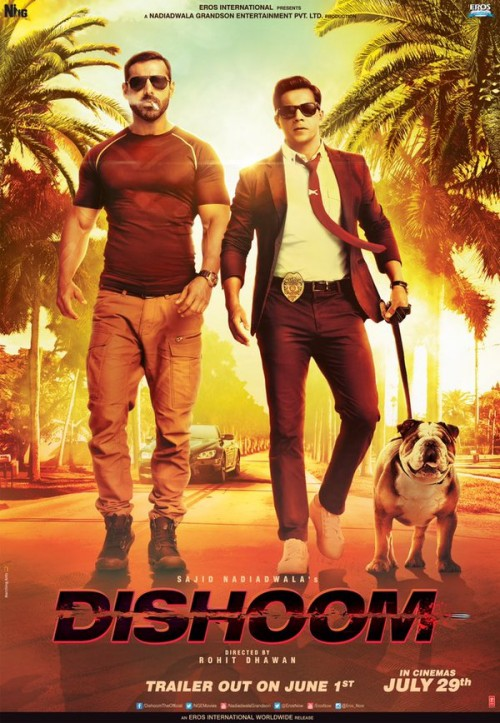 Dishoom (2016) Hindi 720p HEVC WEBHDRip x265 1GB