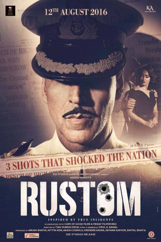 Rustom (2016) Hindi 1080p HEVC Bluray X265 940MB