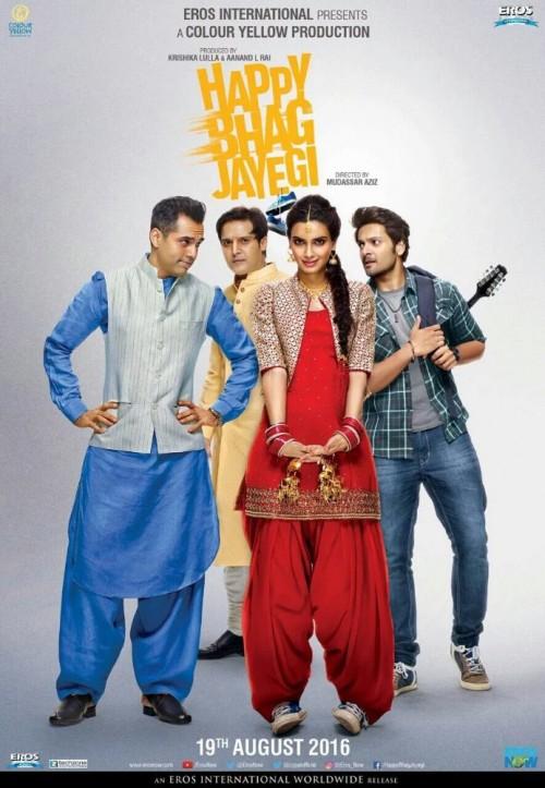 Happy Bhag Jayegi (2016) Hindi DesiSCR Rip x264 695MB
