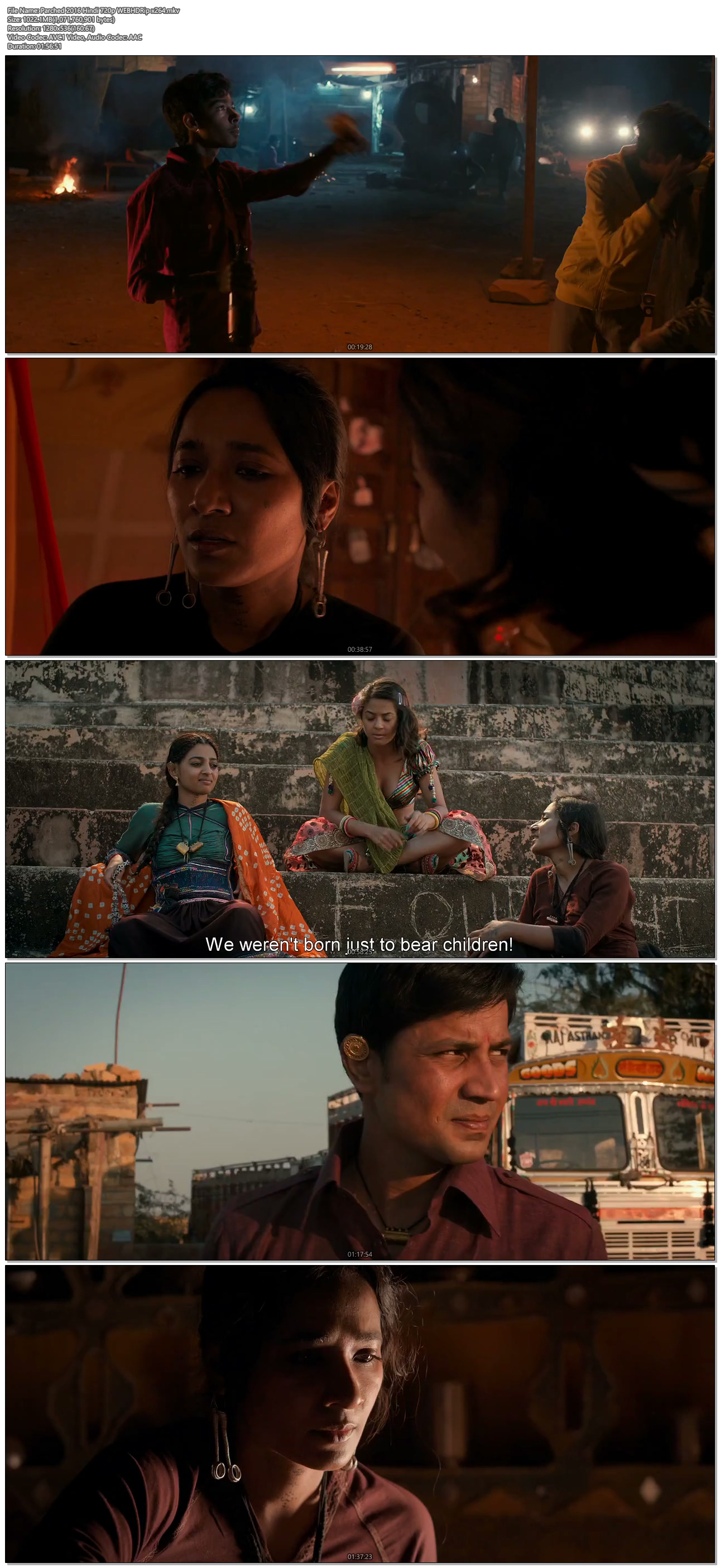 parched movie  mkv
