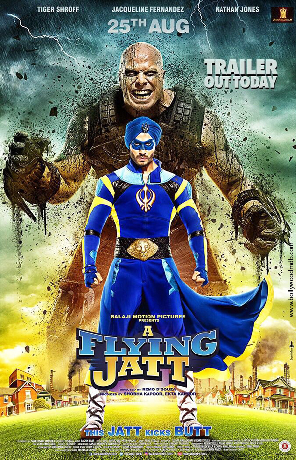 A Flying Jatt (2016) Hindi 720p HEVC DvDRip x265 670MB