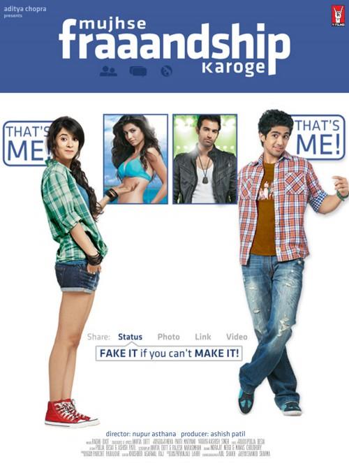 Mujhse Fraaandship Karoge (2011) Hindi 1080p HEVC WEB-DL X265 630MB