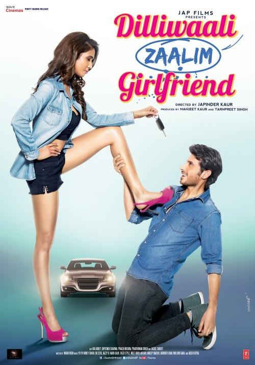 Dilliwaali Zaalim Girlfriend (2015) Hindi 720p HEVC WebHd X265 570 MB
