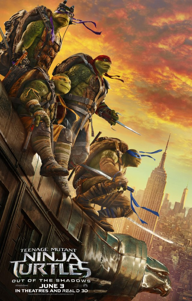 Teenage Mutant Ninja Turtles: Out of the Shadows (2016 720p HEVC WEB-DL x265 477 MB