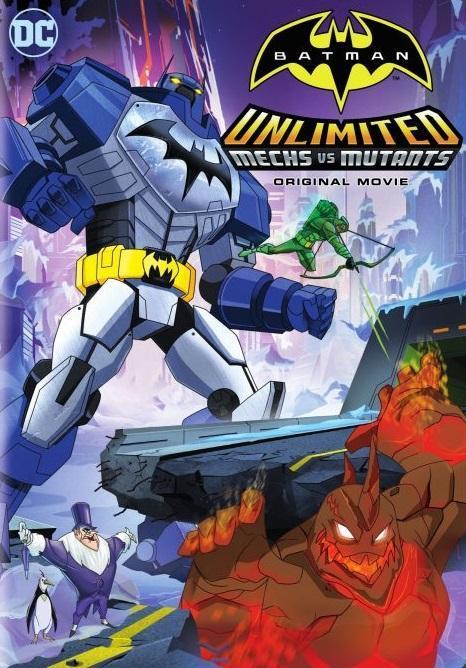 Batman Unlimited: Mech vs. Mutants (2016) WEB-DL x264 665 MB