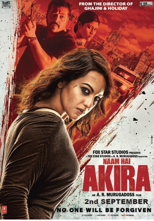 Akira (2016) Hindi 1CD DesiSCR Rip x264 680MB