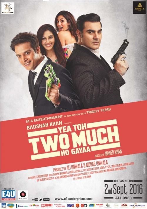 Yea Toh Two Much Ho Gayaa (2016) Hindi 1080p HEVC WEB-HD x265 600MB