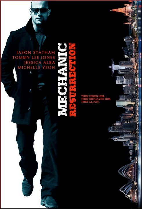 Mechanic: Resurrection (2016) Hindi Dubbed HDCAM x264 480MB
