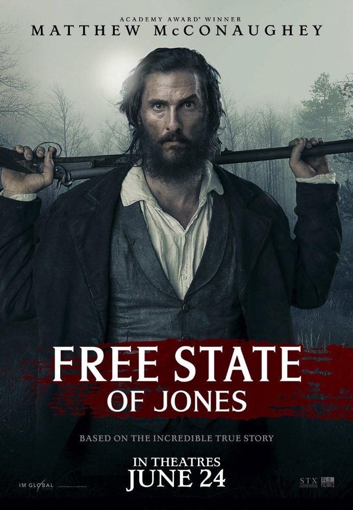 Free State of Jones (2016) 1080p HEVC Webdl X265 882 MB