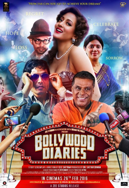 Bollywood Diaries (2016) 720p HEVC DvDRip X265 560MB