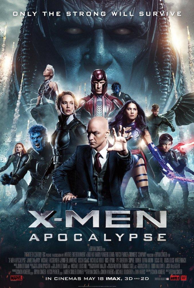 X-Men: Apocalypse (2016) 1080 HEVC BluRay x265 902 MB