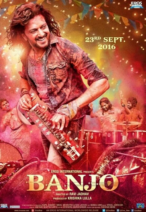 Banjo (2016) Hindi DesiSCR Rip x265 695MB