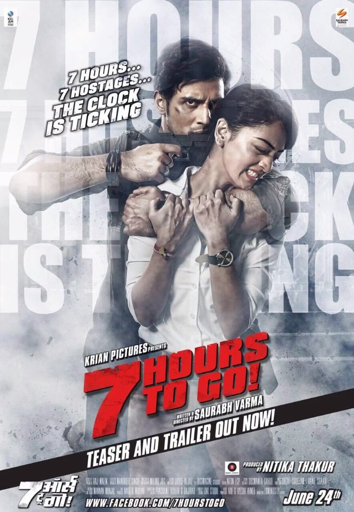 7 Hours To Go (2016) Hindi DVDRip x264 1.4GB