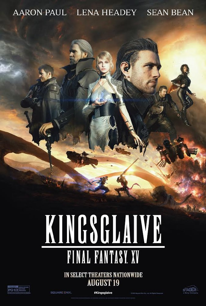 Kingsglaive: Final Fantasy XV (2016) 720p BluRay x264 860 MB