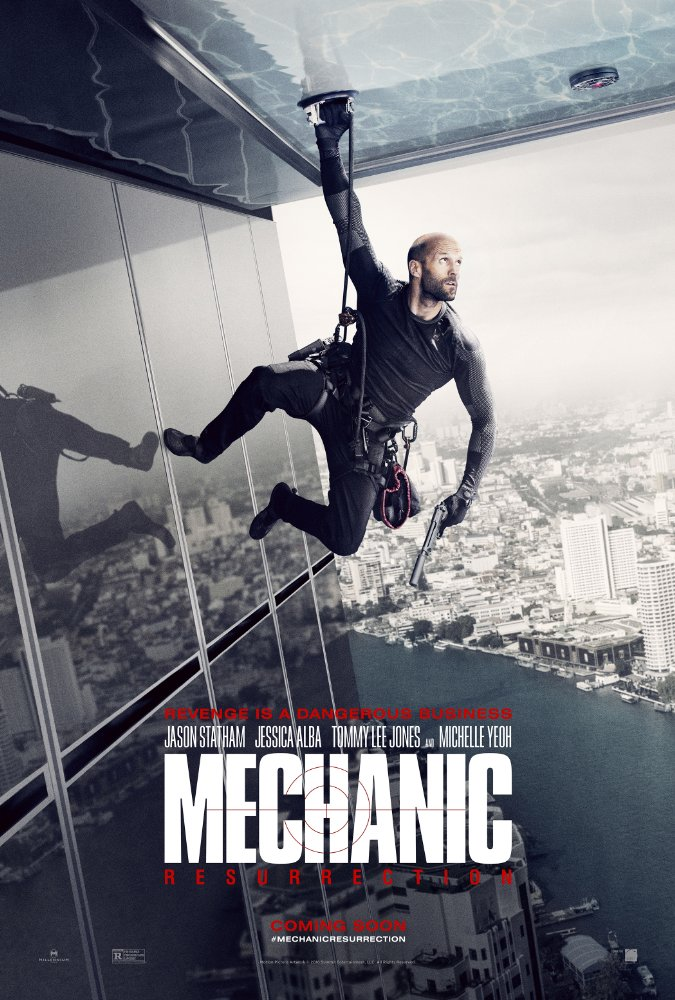 Mechanic Resurrection (2016) WEB DL x264 850MB
