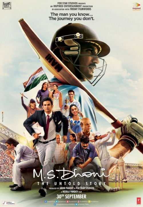 M.S. Dhoni: The Untold Story (2016) Hindi DesiSCR-Rip x264 800MB