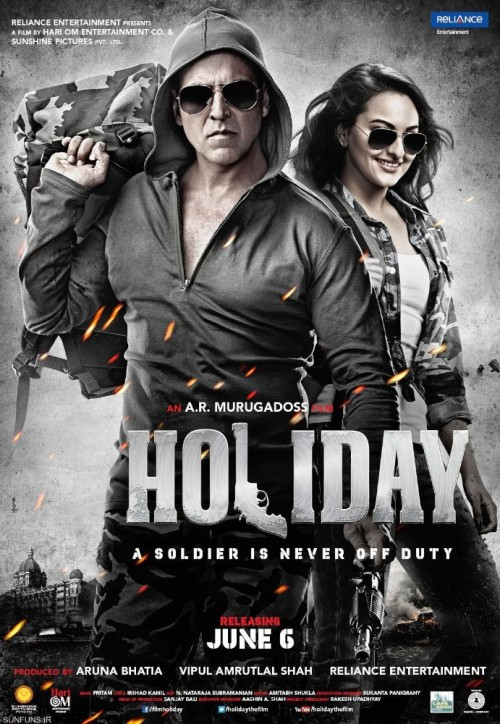 Holiday (2014) Hindi 1080p HEVC  BluRay X265 1GB